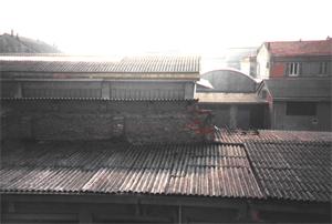 tetti con coperture in cemento amianto
