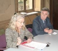Grazia Bocca, presidente del Consiglio comunale, e Angelo Di Cosmo, vice presidente del Consiglio comunale