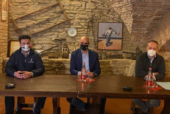 Federico Riboldi, Lorenzo Lucchini e Paolo Lantero_
