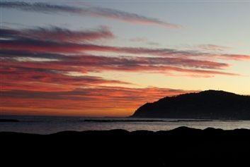 tramonto a san bartolomeo al mare