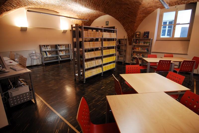 una sala della biblioteca ragazzi