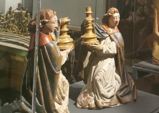Le opere esposte alla mostra