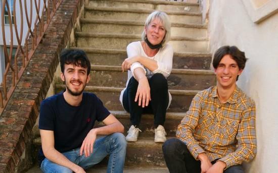 il trio della Monferrato Classic Orchestra