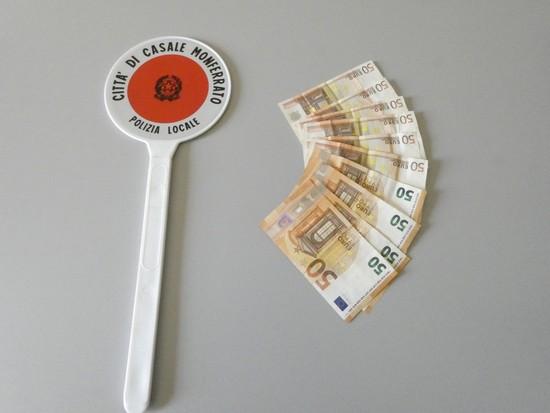 i soldi del furto recuperati