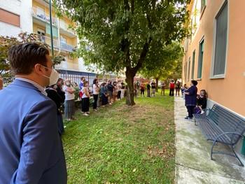 il sindaco riboldi in visita nelle scuole cittadine