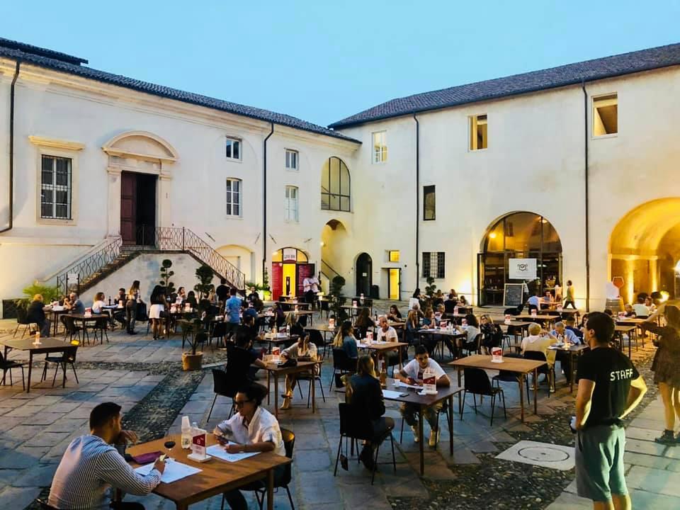 un momento di CaliCentro al Castello del Monferrato