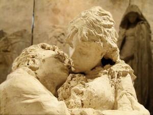 gli amanti, gesso di Leonardo Bistolfi