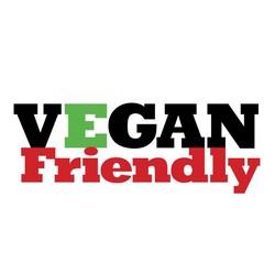 logo Vegan friendly