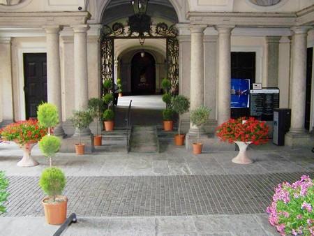 palazzo San Giorgio in occasione di Riso e Rose