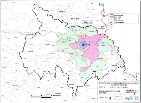 Mappa del rischio sanitario