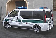 mezzo della polizia locale