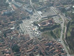 foto aerea del castello