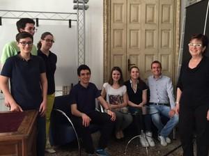 foto di gruppo della consulta studenti