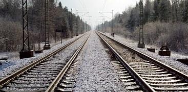 foto binari ferrovia