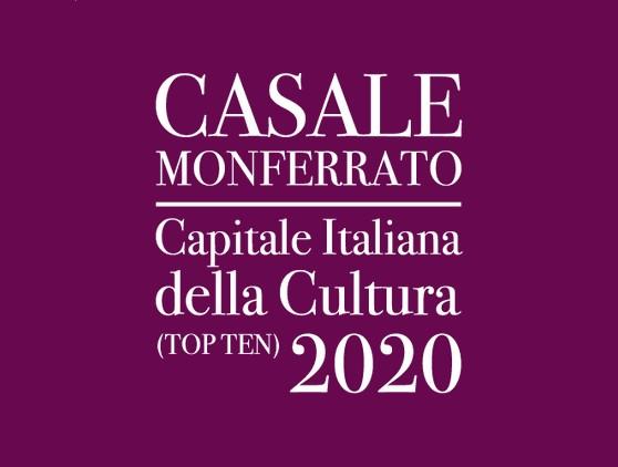 logo casale capitale della cultura 2020
