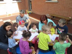 Bambini nell'Asilo Nido di Oltreponte