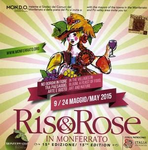cartolina Riso e Rose