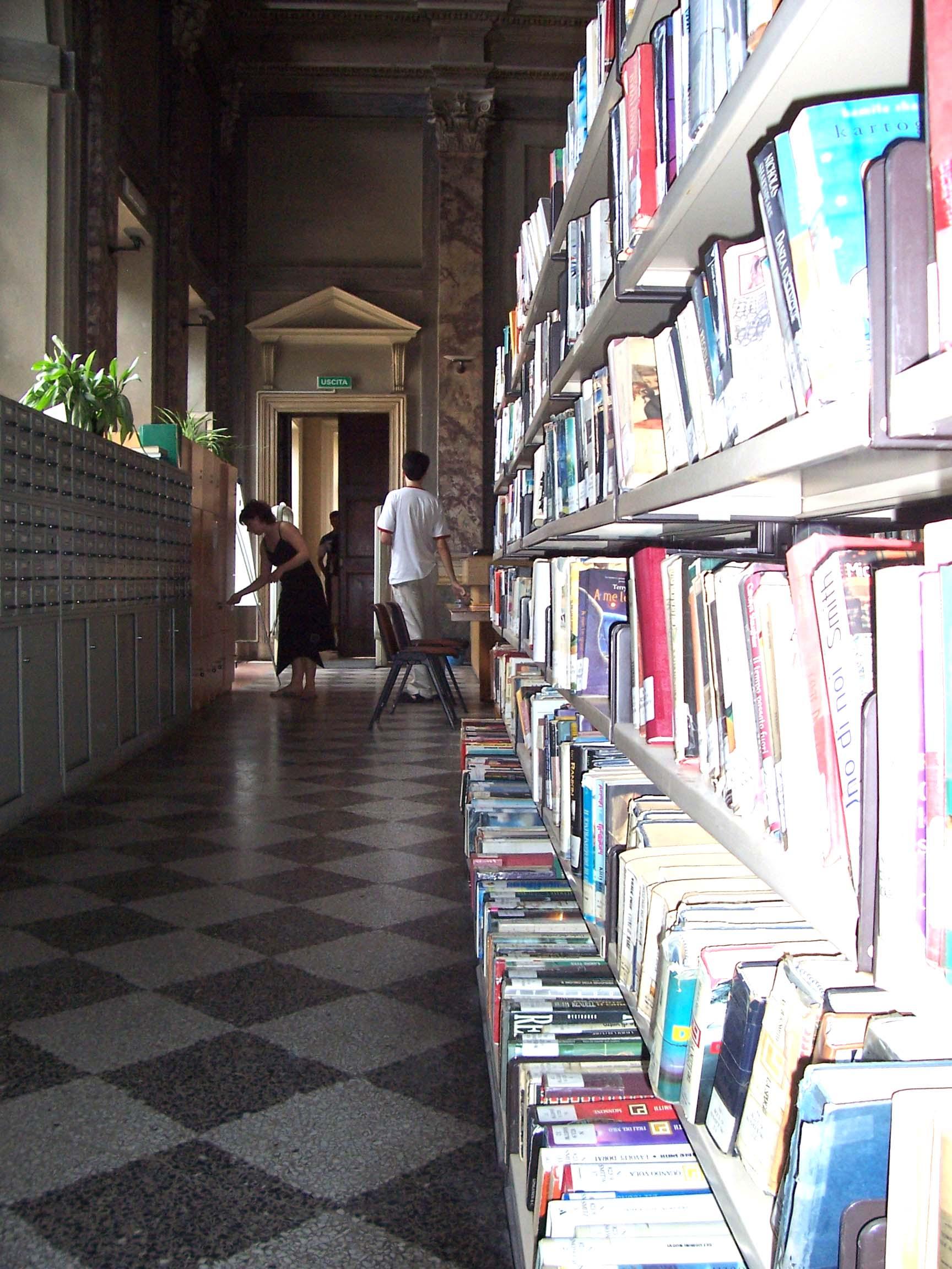 bibliotec civica Canna
