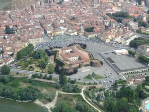 foto aerea castello