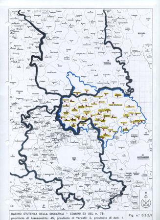 Mappa territorio interessato