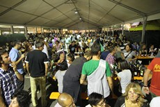 foto d'archivio festa del vino