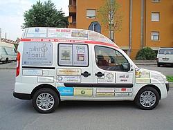 foto automezzo donato al comune