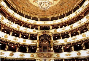 interno del teatro municipale