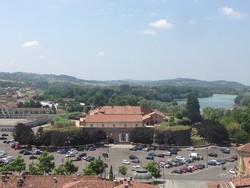 piazza Castello dall'alto