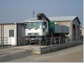 camion alla discarica amianto