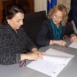 la firma del protocollo di legalità