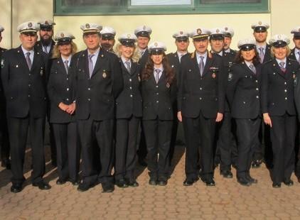 foto di gruppo polizia locale