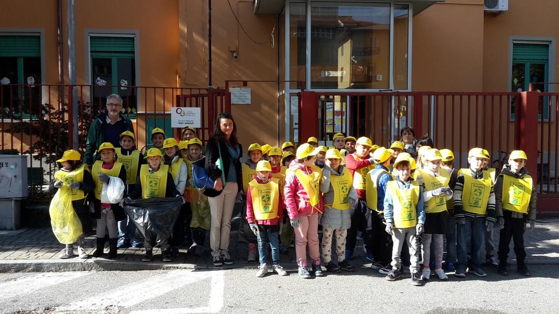 foto di gruppo di alcuni alunni