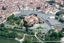 aerial photograph: The castle