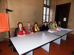 foto durante la conferenza stampa di presentazione