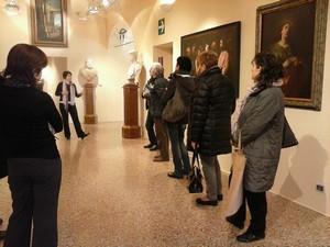 un momento degli incontri in museo