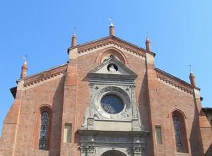 la facciata della chiesa di san domenico