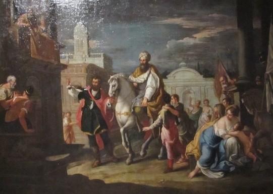 Trionfo di Mardocheo - pittore veneto