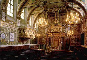 sinagoga di casale monferrato interno