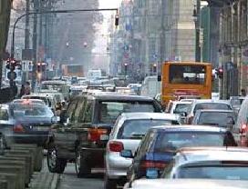 immagine traffico cittadino