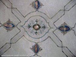 Particolare di un soffitto interno