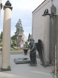 Un particolare del cimitero