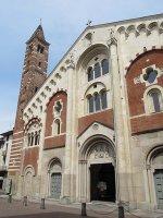 Facciata cattedrale di Sant'Evasio
