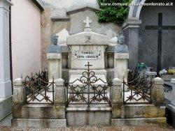 Leonardo Bistolfi, Monumento sepolcrale per i coniugi Cova