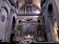 interno l'altare