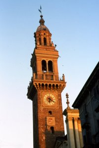 The civic tower of Casale Monferrato